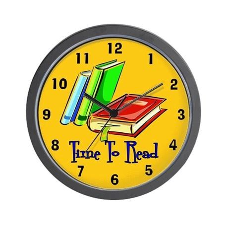 Time To Read Wall Clock by scott64
