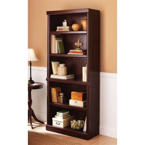 Does Walmart Carry On A Shelf by Better Homes And Gardens Ashwood Road 5 Shelf Bookcase