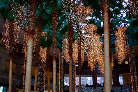 winter garden lights nyc nyc world financial center winter garden s festival