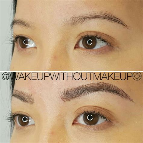 eyebrow tattoo chicago best 25 permanent eyebrow ideas on
