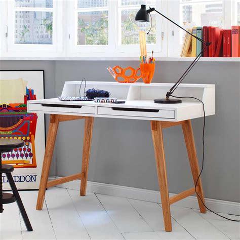 Schreibtisch 110 Breit by Design Schreibtisch In Buche Wei 223 110 Cm Breit Artikelid