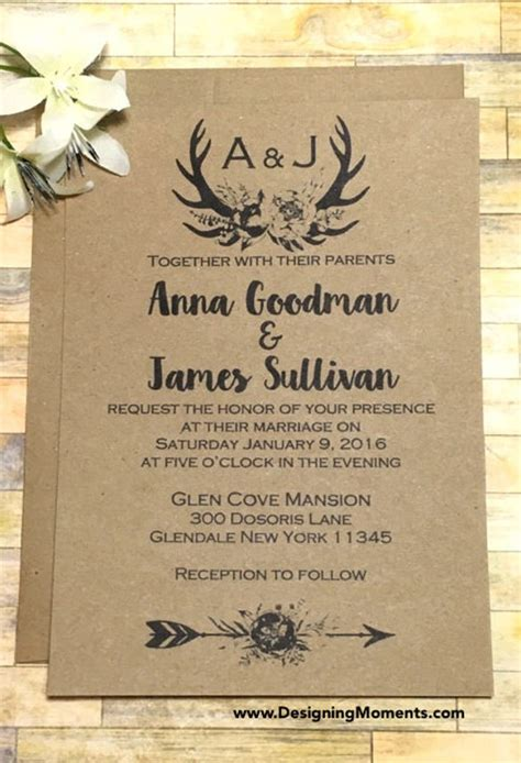 rustic wedding invite template 21 country wedding invitation templates free sle