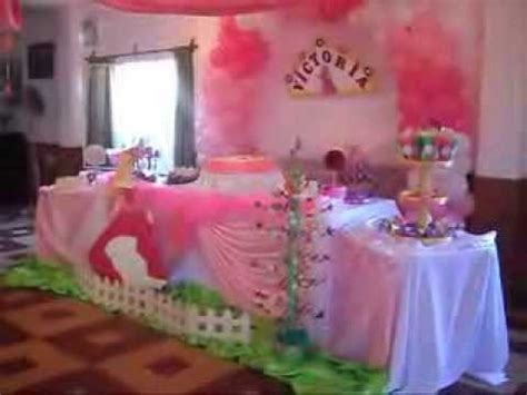 decoracion de fiesta de la princesa bella y la bestia decoracion princesa la bella durmiente youtube
