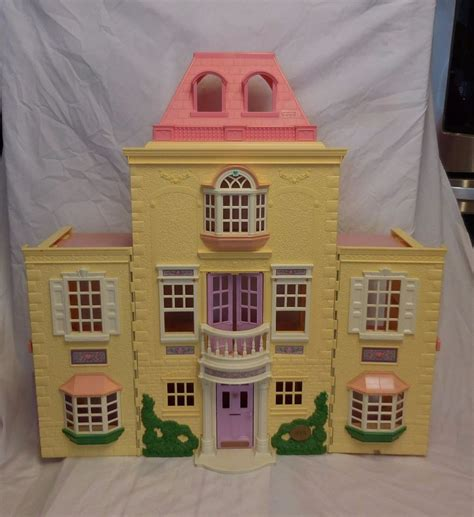 playskool doll house fisher price loving family twin time grand mansion