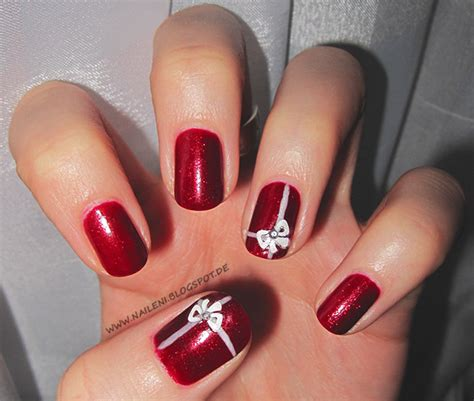 Nägel Lackieren Anleitung Muster by Nailart Weihnachtliches Nageldesign Nails Reloaded By