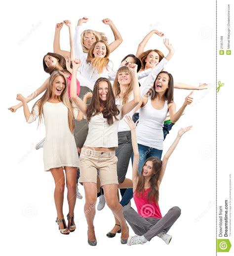 imagenes de solteras alegres grupo de mujeres alegres felices fotos de archivo libres