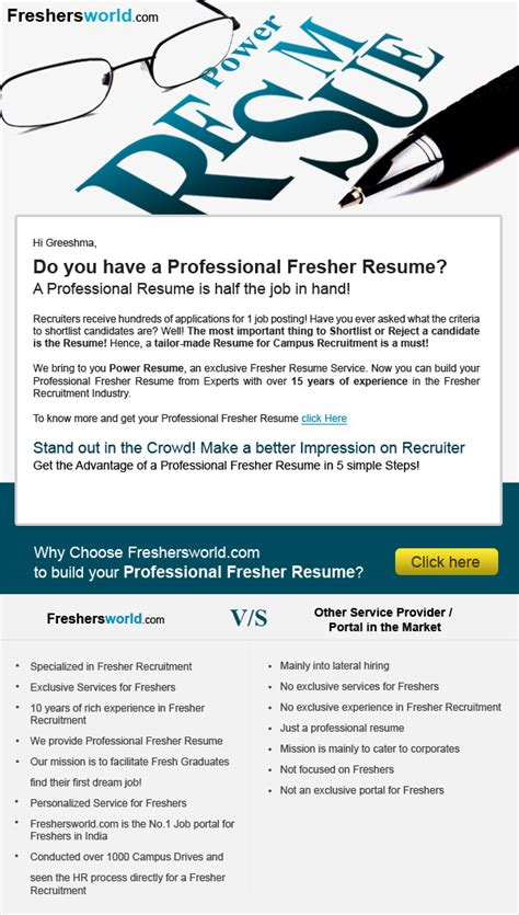 freshersworld resume sle freshersworld resume format 28 images content writer