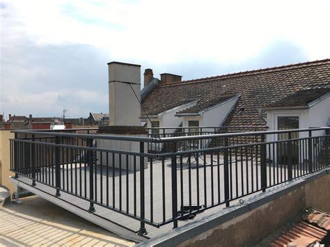 Aluminium Terrasse by Garde Corps Terrasse Et Garde Corps Aluminium