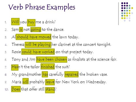 eq what are the different types of verbs and how does each type work ppt
