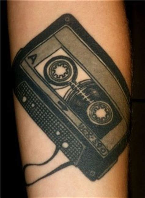 cassette tape tattoo 17 best images about cassette ideas on