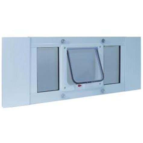 Cat Doors For Windows Decor Ideal Pet 6 25 In X 6 25 In Small Cat Flap Frame Door For Installation Into 27 In To 32 In
