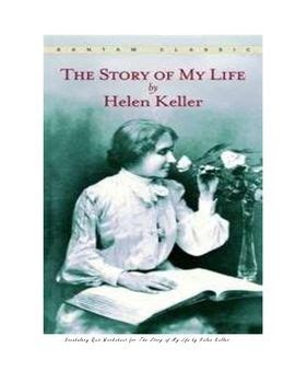 helen keller biography quiz the story of my life vocabulary quiz worksheet context