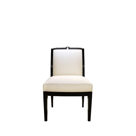 classic chair masque de femme classic chair numbered edition clear crystal black lacquered and ivory silk