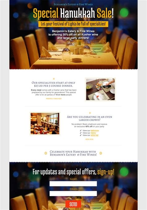 sales page templates by getresponse