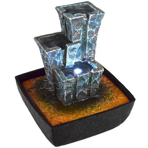 beleuchtung zimmerbrunnen zimmerbrunnen wasserspiel tischbrunnen wasserwand brunnen