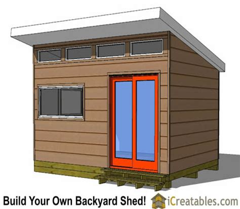 Studio Shed Plans by 12x16 Studio Shed Plans Side Door
