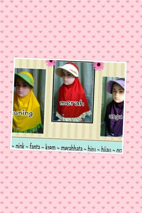 Kerudung Anak Vania Bunga Size M kerudung anak solusi pakaian anak muslim sederhana