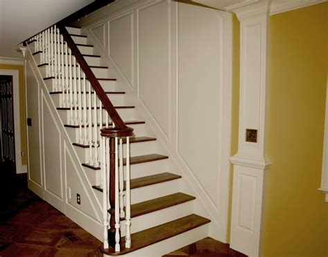 stair  wainscot paneling