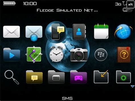 themes blackberry mobile9 maiscobitsweeth so6 theme for bold 9700