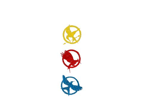 mysoti alliecatisallama the hunger games symbols