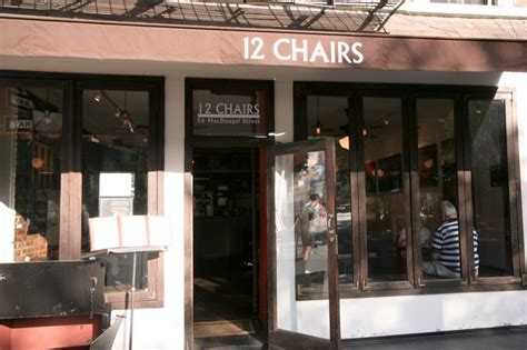 chairs cafe  york eventseeker