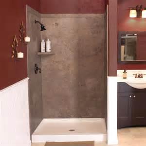 flexstone 48 quot x36 quot x78 quot elegance 3 panel shower kit