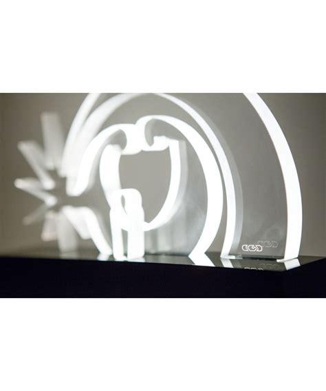 plexiglass illuminato presepe moderno verona in plexiglass trasparente