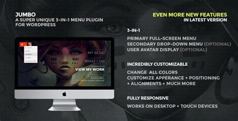Mythemeshop Magxp V3 0 16 1 jumbo v3 0 a 3 in 1 screen menu for