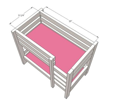 doll bed plans best 25 doll bunk beds ideas on pinterest diy doll bed