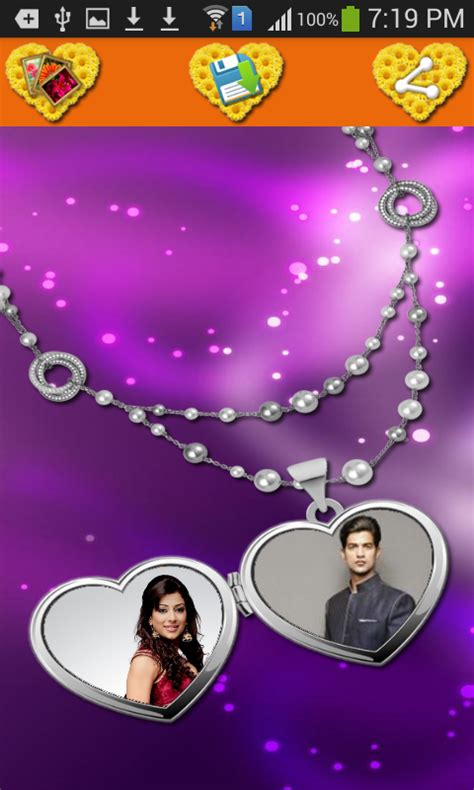 love frames app pc locket photo frames android apps on google play