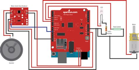 tutorial drum mp3 arduino shields learn sparkfun com