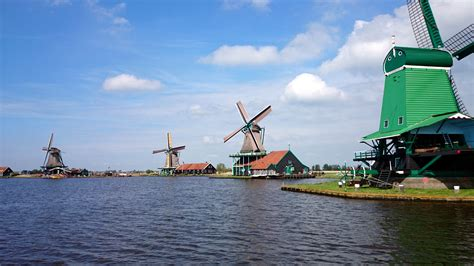 Small Houses Architecture by Zaanse Schans Netherlands Visions Of Travel
