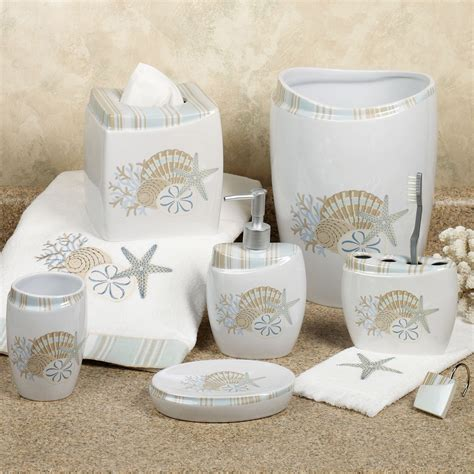 sea decor for bathroom by the sea bath accessories
