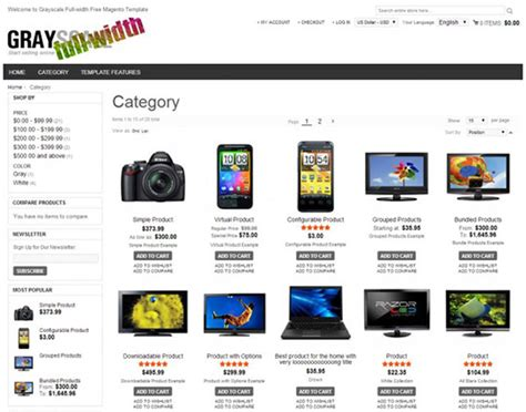 6 free responsive magento themes for your next ecommerce store