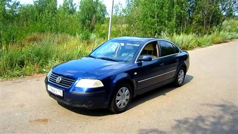 2001 volkswagen passat engine 2001 volkswagen passat b5 start up engine and in depth