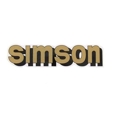 Aufkleber F R Moped by Simson S51 Aufkleber Klebefolie Simson F 252 R Tank Gold