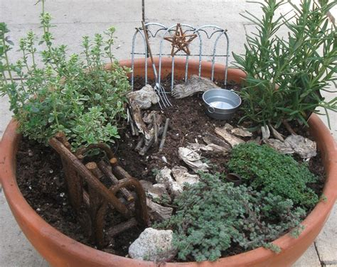 mini herb garden rustic mini herb garden gardens outdoor spaces pinterest