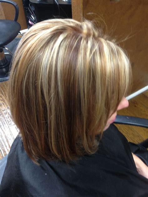 hair highlights for the spring with dark hair really pretty contrasting brown blonde highlights just a