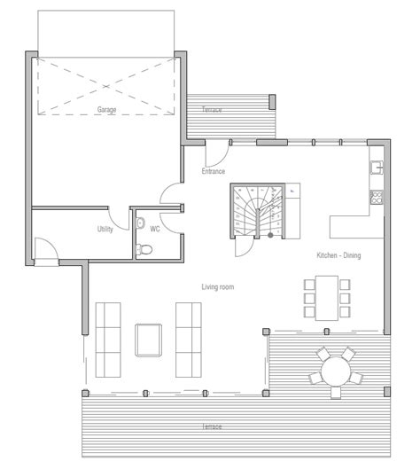 new home floor plans for 2013 modern house plan ch171 with affordable building budget