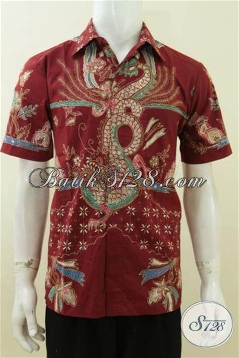 Baju Sarimbit Batik Merah Bsd 141 batik naga pria warna merah untuk pria maco berkarakter ukuran m ld3739t m toko batik