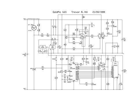 pulse detector circuit diagram pulse induction metal detector circuit diagram circuit
