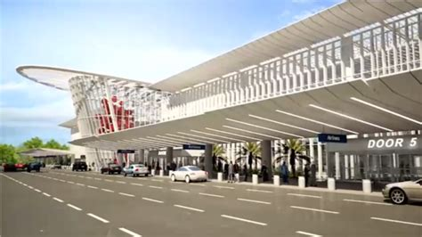 architect and building news report on airport building design for orlando international airport south terminal