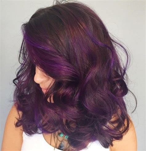 purple brown hair color 25 best ideas about purple brown hair on