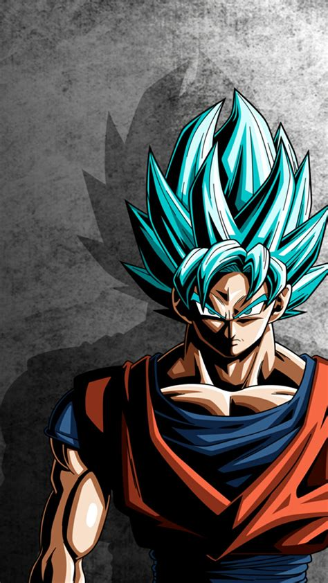 dragon ball z wallpaper portrait goku super saiyan blue dragon ball super pinterest