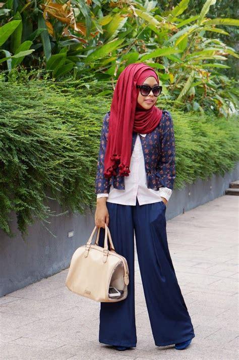 Celana Wanita Casual Biru Spnx046 blouse model baju terbaru design bild
