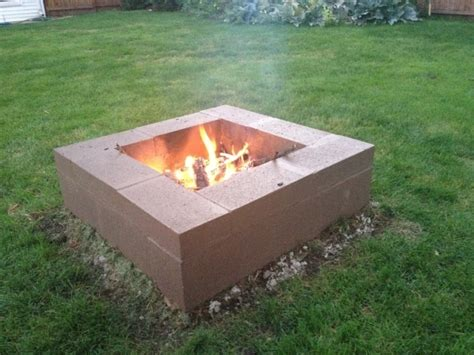 build pit with how to build a pit with cinder blocks pit ideas