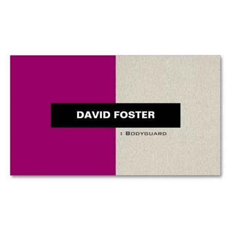 Bodyguard Business Card Templates by 17 Best Images About Security Guard Business Cards On