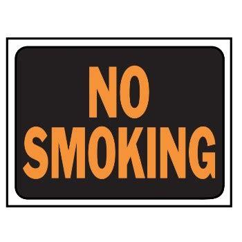 no smoking sign plastic buy the hy ko 3013 no smoking sign plastic 9 x 12 inch
