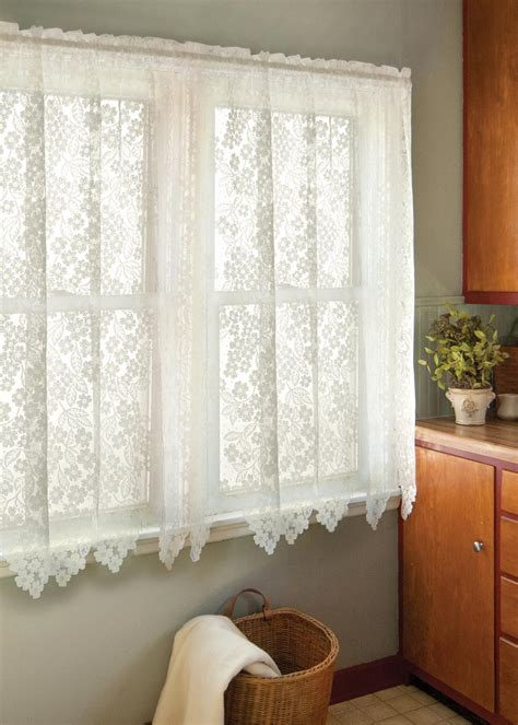lace curtain dogwood curtains by heritage lace