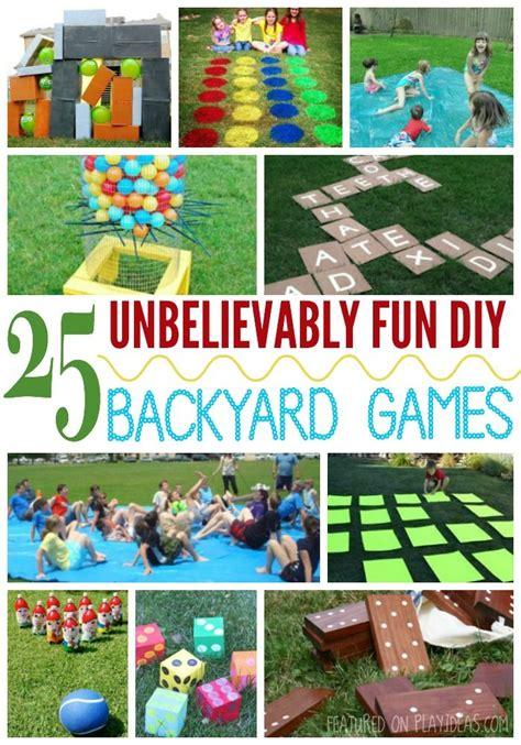 kids backyard activities 25 unbelievably fun diy backyard games for kids backyard games backyards and games for kids
